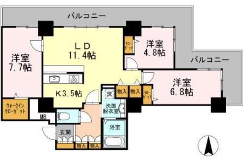 品川シーサイドビュータワーⅠ 1201の写真1