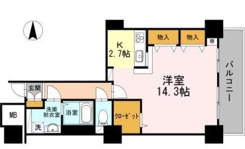 品川シーサイドビュータワーⅠ2502の写真1