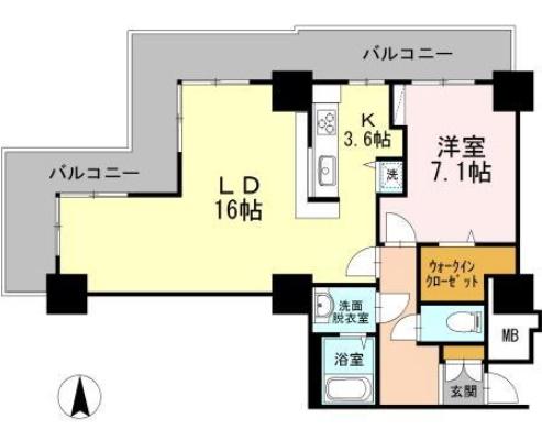 品川シーサイドビュータワーⅠ316の写真1