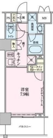 ロイジェントパークス赤坂 413の写真1