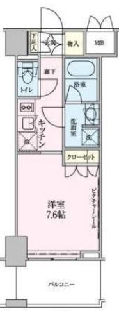 ロイジェントパークス赤坂 203の写真1