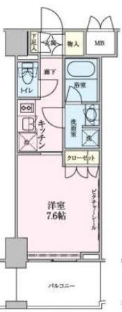 ロイジェントパークス赤坂 303の写真1