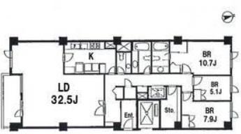 麻布テラスアパートメント 803の写真1