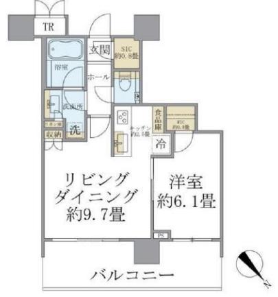 パークシティ武蔵小山ザタワー 616の写真1