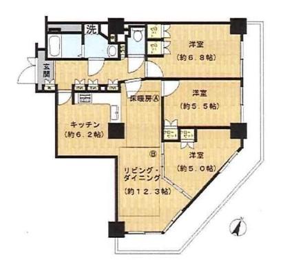 Jタワー西大井イーストタワー 603の写真1
