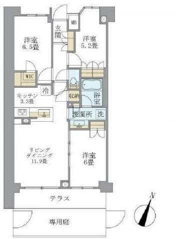 アパートメンツ中野弥生町 107の写真1