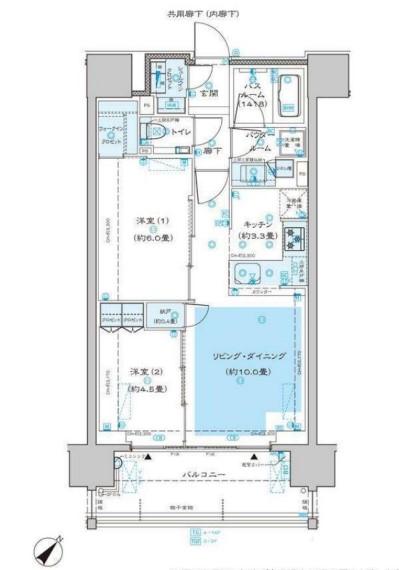 ディームス渋谷本町 1405の写真1
