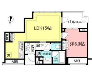 宮益坂ビルディング ザ・渋谷レジデンス 1014の写真1