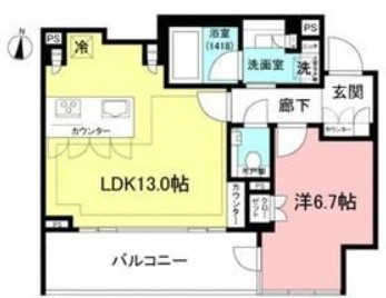 宮益坂ビルディング ザ・渋谷レジデンス 1512の写真1