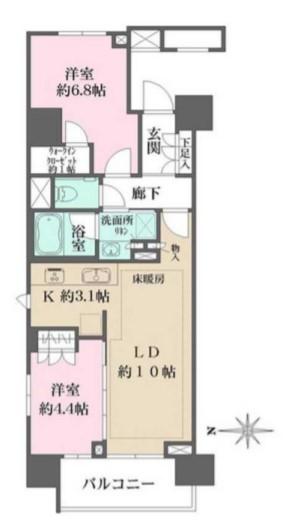 ザ・パークハウスアーバンス渋谷 1201の写真1