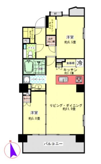 シティハウス神宮北参道 508の写真1