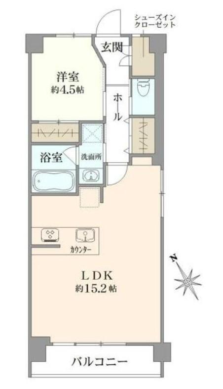 渋谷マンション 1106の写真1
