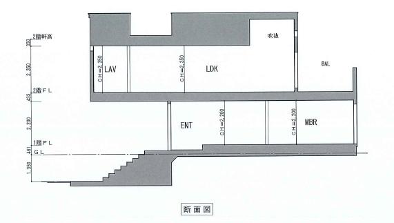 目黒区柿の木坂 戸建の写真3