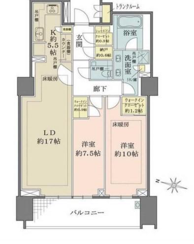 ザ・パークハウス渋谷南平台 307の写真1