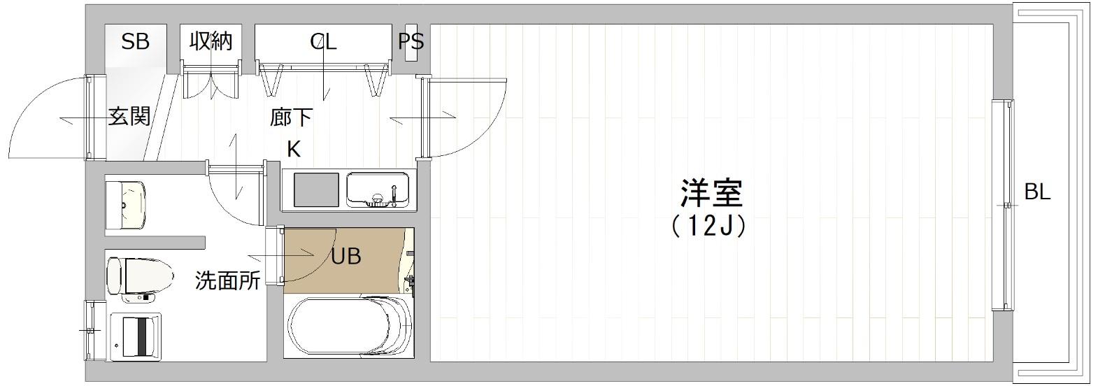 代沢テラス 202の写真1