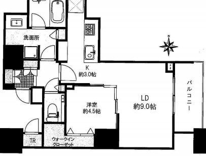 ドゥ・トゥール42階の写真1