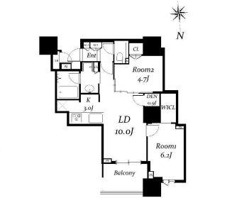 ドゥ・トゥール28階の写真1