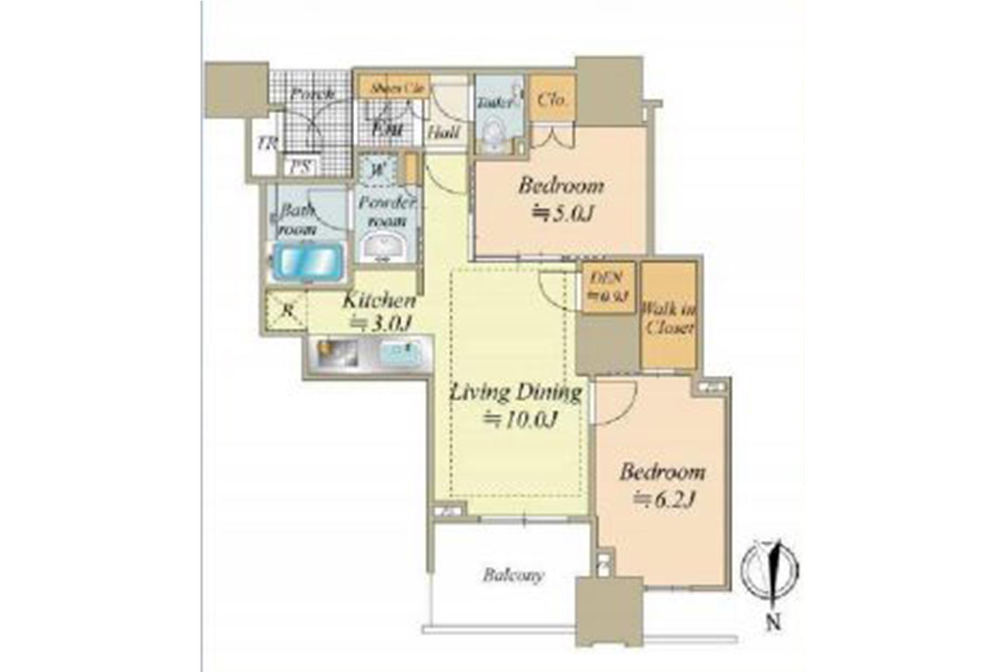 ドゥ・トゥール3階の写真1