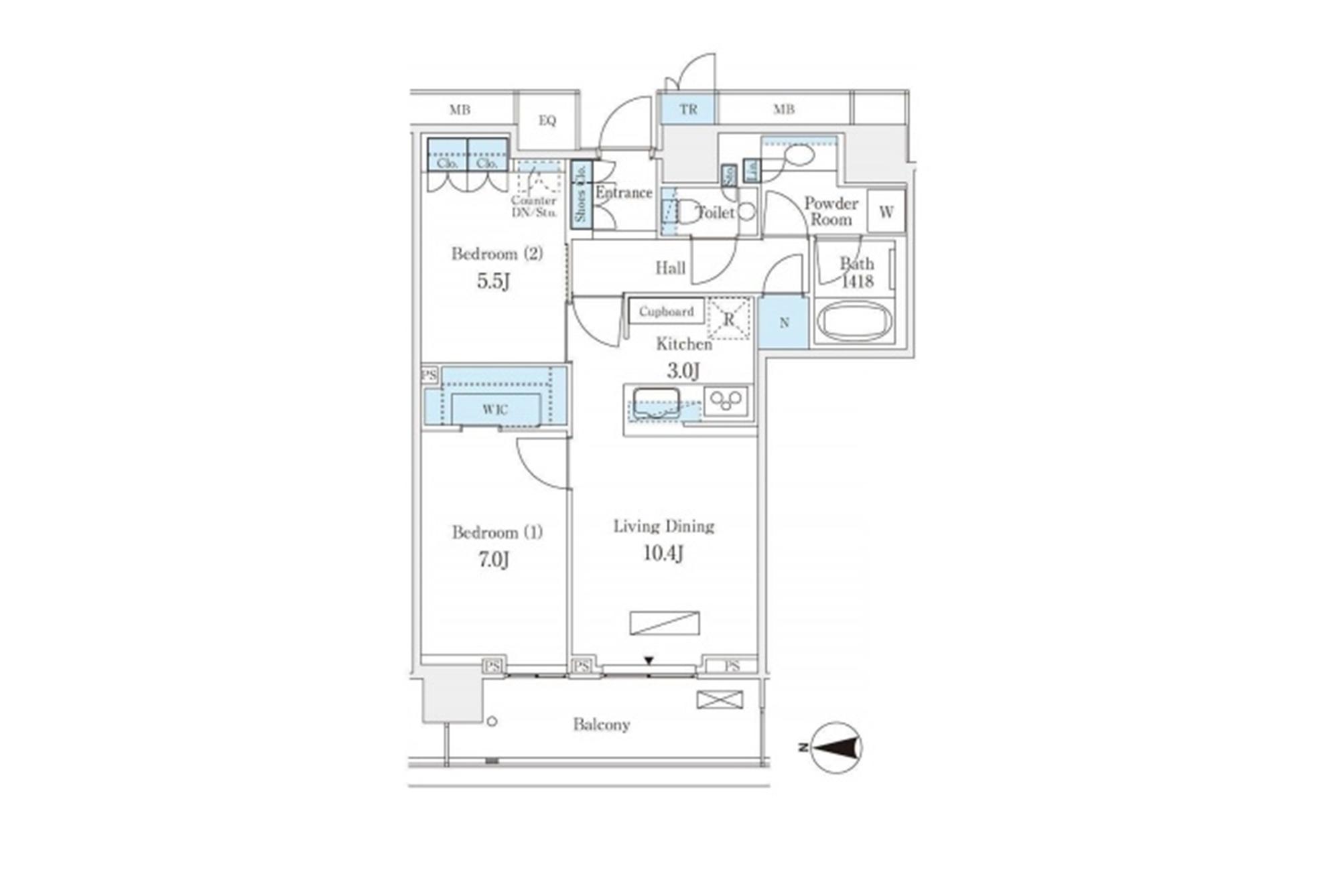 ザ・パークハウス晴海タワーズ クロノレジデンス 37階の写真1