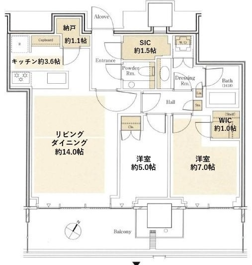 THE COURT 神宮外苑 22Fの写真1