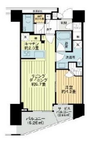 Brillia THE TOWER 東京八重洲アベニュー 18階の写真1